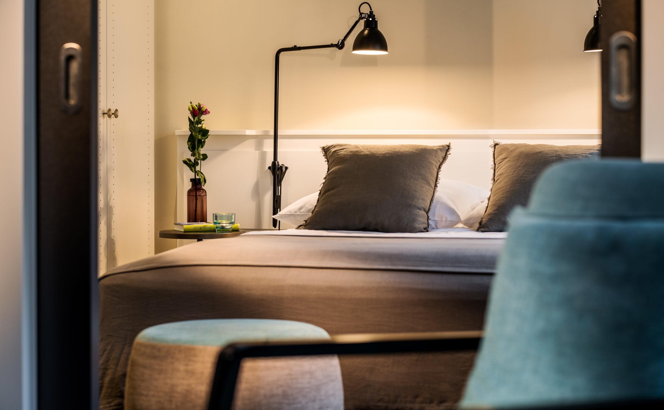 Wohnen auf Zeit im Apartmenthotel & Boardinghouse Apartment040: unsere Junior Suite in Hamburg mieten